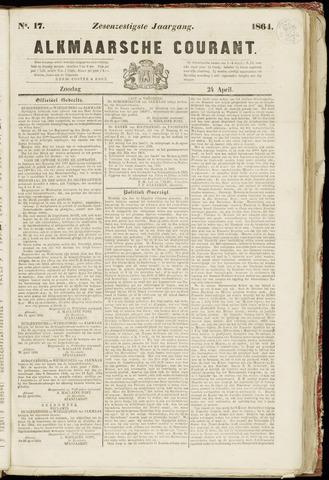 Alkmaarsche Courant 1864-04-24