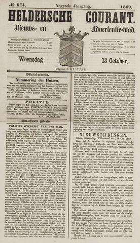 Heldersche Courant 1869-10-13
