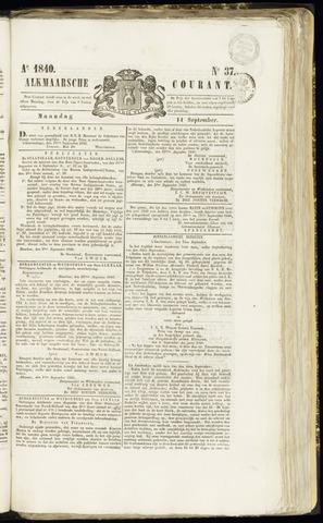 Alkmaarsche Courant 1840-09-14