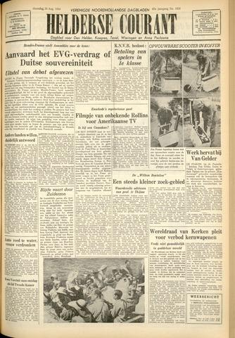 Heldersche Courant 1954-08-30