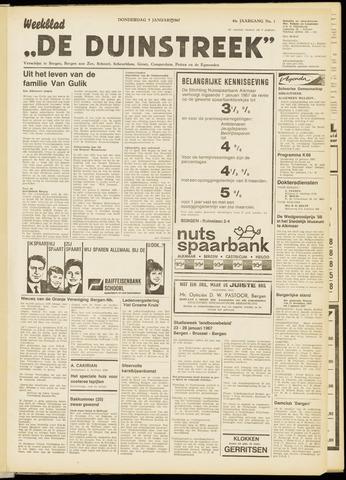 De Duinstreek 1967-01-05