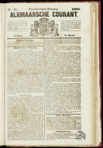 Alkmaarsche Courant 1860-03-11