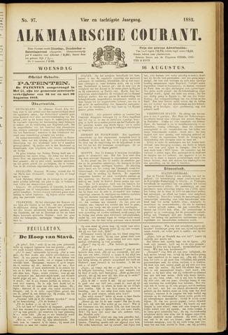 Alkmaarsche Courant 1882-08-16
