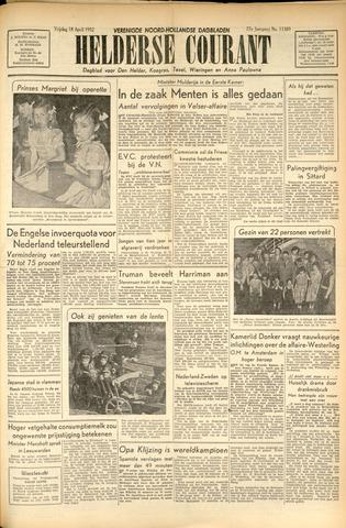 Heldersche Courant 1952-04-18