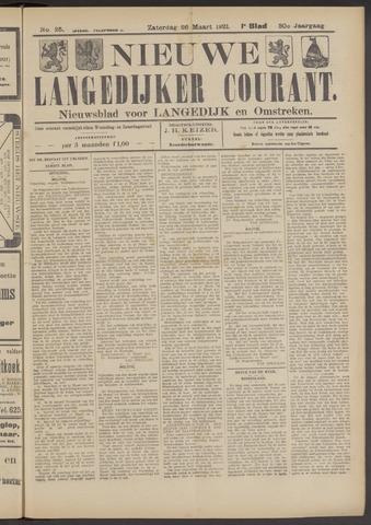 Nieuwe Langedijker Courant 1921-03-26