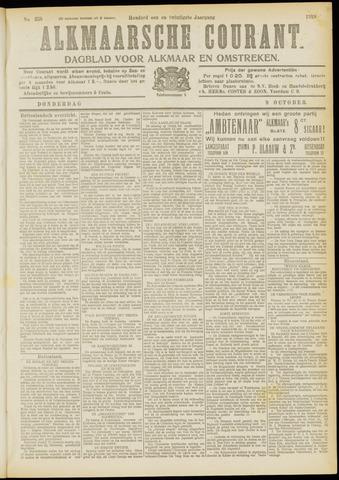 Alkmaarsche Courant 1919-10-09
