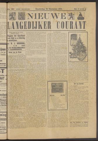 Nieuwe Langedijker Courant 1925-12-24