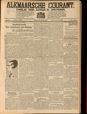 Alkmaarsche Courant 1934-01-26