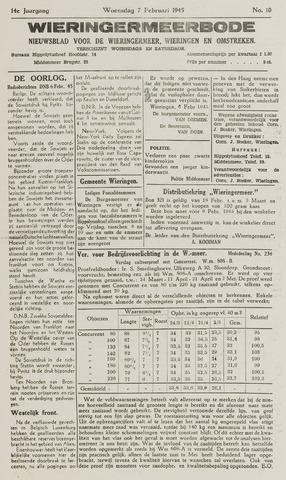 Wieringermeerbode 1945-02-07