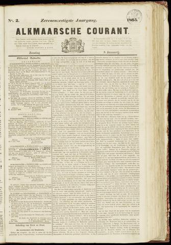 Alkmaarsche Courant 1865-01-08