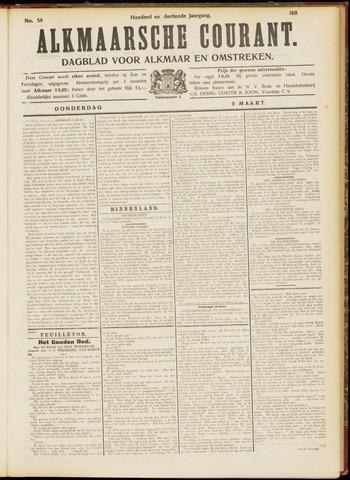 Alkmaarsche Courant 1911-03-09
