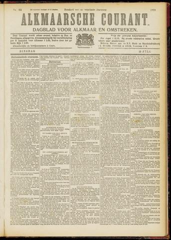 Alkmaarsche Courant 1919-07-15