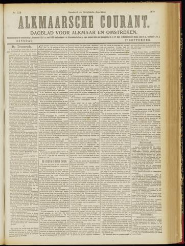 Alkmaarsche Courant 1918-09-17