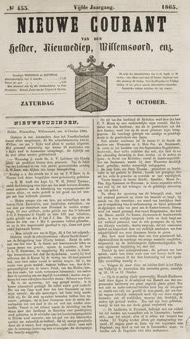Nieuwe Courant van Den Helder 1865-10-07