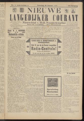 Nieuwe Langedijker Courant 1927-01-29