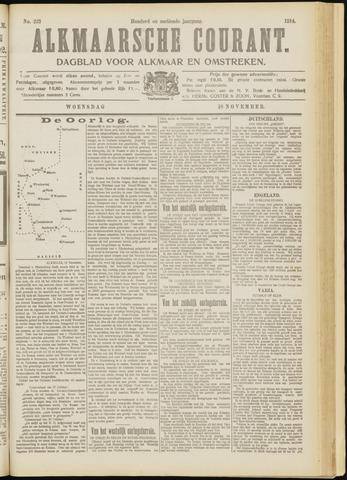 Alkmaarsche Courant 1914-11-18