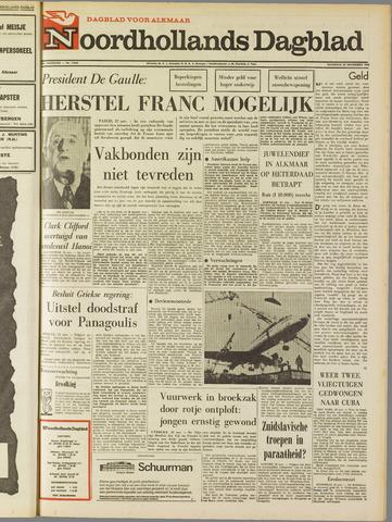 Noordhollands Dagblad : dagblad voor Alkmaar en omgeving 1968-11-25