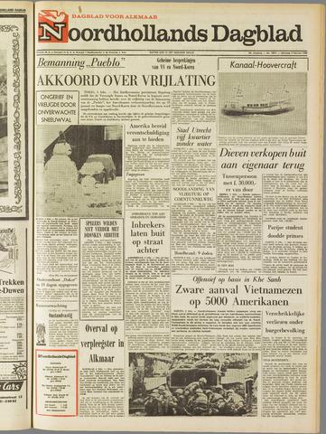 Noordhollands Dagblad : dagblad voor Alkmaar en omgeving 1968-02-05