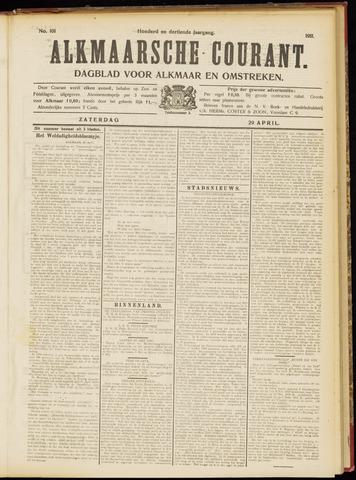 Alkmaarsche Courant 1911-04-29