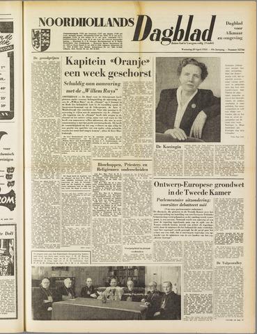 Noordhollands Dagblad : dagblad voor Alkmaar en omgeving 1953-04-29