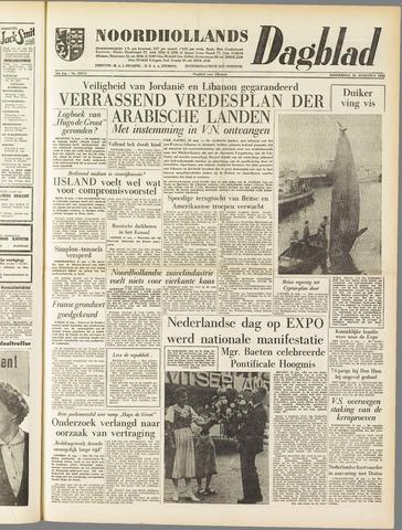 Noordhollands Dagblad : dagblad voor Alkmaar en omgeving 1958-08-21