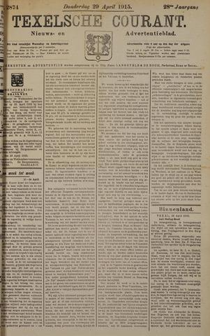 Texelsche Courant 1915-04-29