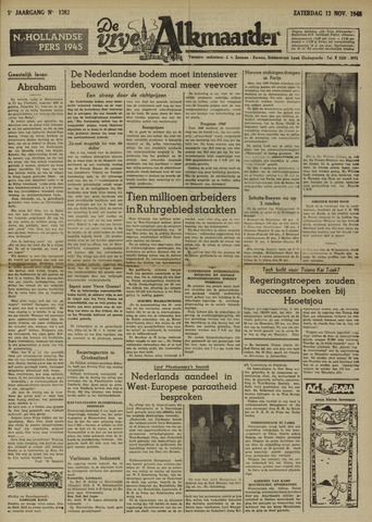 De Vrije Alkmaarder 1948-11-13