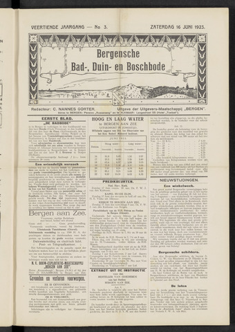 Bergensche bad-, duin- en boschbode 1923-06-16