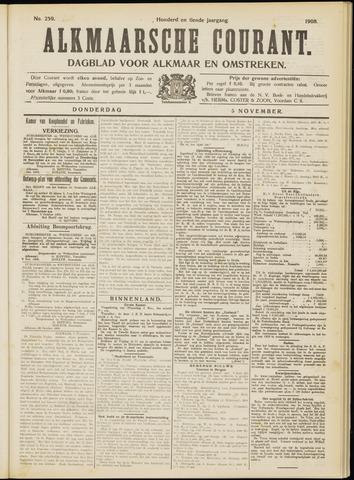 Alkmaarsche Courant 1908-11-05