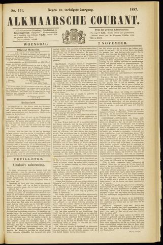 Alkmaarsche Courant 1887-11-02