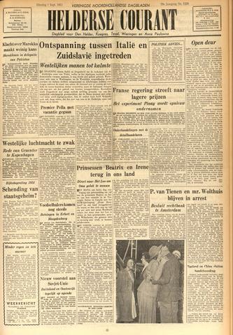 Heldersche Courant 1953-09-01
