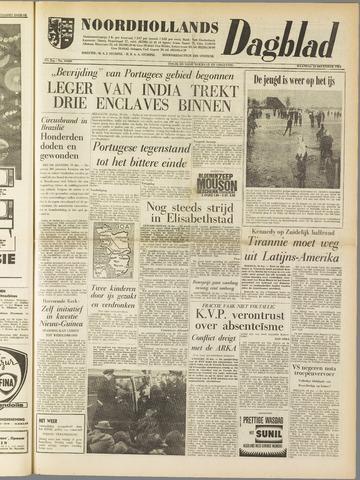 Noordhollands Dagblad : dagblad voor Alkmaar en omgeving 1961-12-18