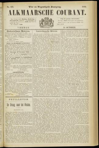 Alkmaarsche Courant 1892-10-14