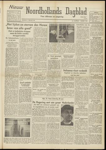 Nieuw Noordhollandsch Dagblad : voor Alkmaar en omgeving 1948-02-09