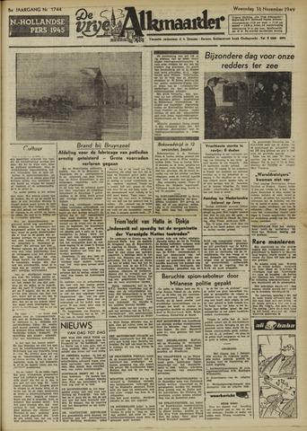 De Vrije Alkmaarder 1949-11-16