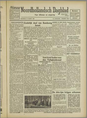 Nieuw Noordhollandsch Dagblad : voor Alkmaar en omgeving 1946-03-25