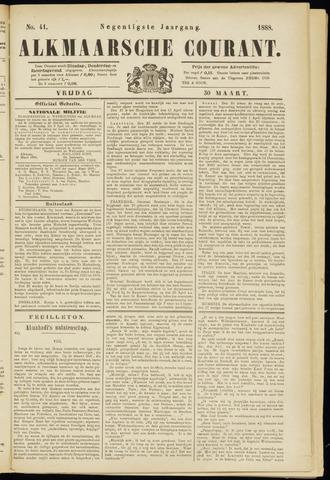 Alkmaarsche Courant 1888-03-30