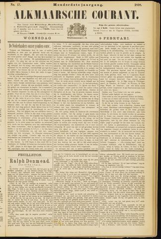 Alkmaarsche Courant 1898-02-09