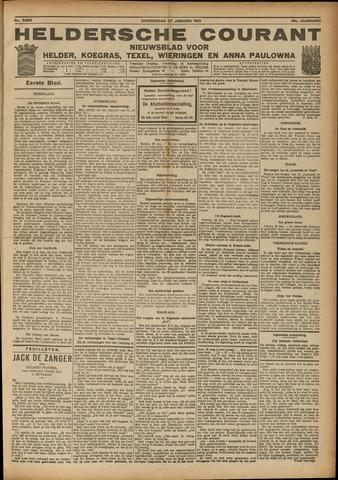 Heldersche Courant 1921-01-27