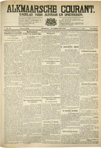 Alkmaarsche Courant 1930-02-11