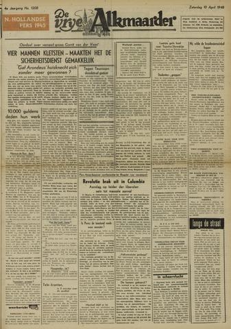 De Vrije Alkmaarder 1948-04-10
