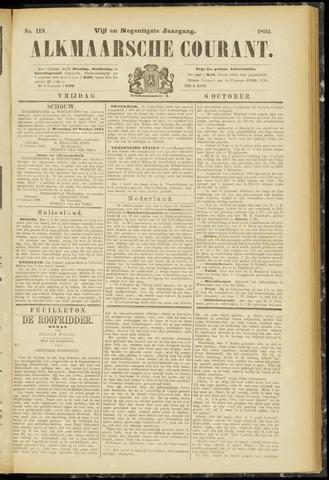 Alkmaarsche Courant 1893-10-06
