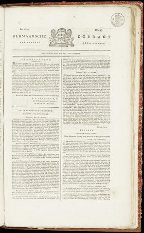 Alkmaarsche Courant 1822-10-28
