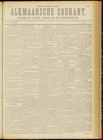 Alkmaarsche Courant 1918-04-26