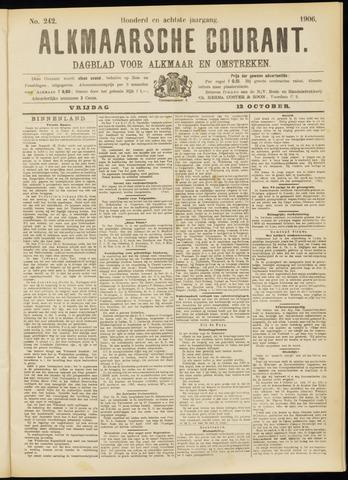 Alkmaarsche Courant 1906-10-12