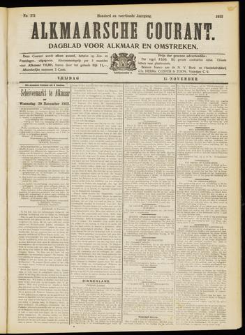 Alkmaarsche Courant 1912-11-15