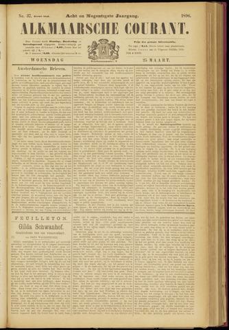Alkmaarsche Courant 1896-03-25