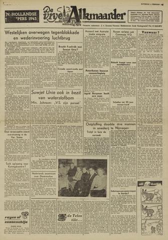 De Vrije Alkmaarder 1950-02-04