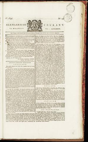 Alkmaarsche Courant 1834-09-01