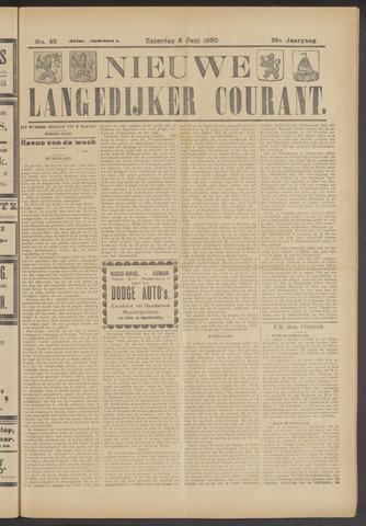 Nieuwe Langedijker Courant 1920-06-05